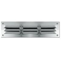 Grille ventilation persiennes intérieure extérieure moustiquaire180x50