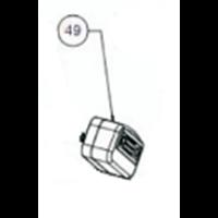 Filtre à air pour compresseur 462300 et twinair 17/100 Lacmé 26142114