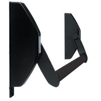 Barre anti-panique porte de secours 1 vantail Universal couleur noir
