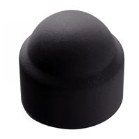 Cache écrou hexagonal - Diamètre M4mm - Polyéthylène - Coloris noir - Boîte de 200
