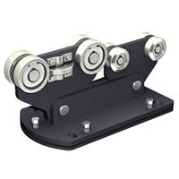 Monture acier avec 8 galets acier 9958 PAF Mantion 9958PAF