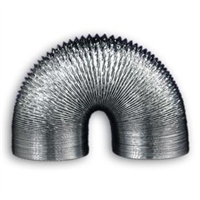 Gaine souple aluminium diamètre 150 mm longueur 2.40 metres Autogyre 21015002