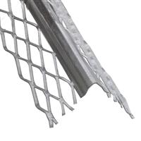 Cornière spéciale placo acier galvanisé - 32 x 32 mm - longueur 2.5 m CQFD 2001-63100-25