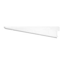 Console double avec pas de 32 mm CQFD - coloris blanc 120 mm