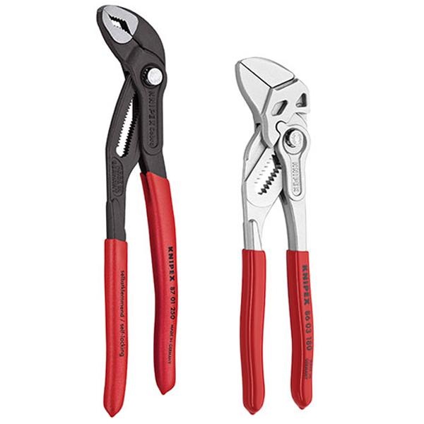 Knipex Pinces-set en mousse de dépôt 4tlg Combi Pince Cobra 002001v17