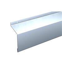 Bandeau acier de volet longueur 2.5 mètres hauteur 182 mm épaisseur 63.8 mm Mantion 10186/250