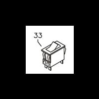 Interrupteur pour le nettoyeur Kranzle 9 TST - 2160 TST Kränzle 41.111 6