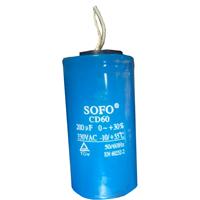 Condensateur 200 micro f pour compresseur lacme YL90S-2