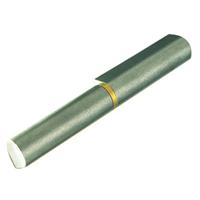 Paumelle à souder Soudaroc acier brut bague laiton 80 mm 35 kg max