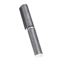 Paumelle à souder Soudaroc butée à bille acier brut hauteur 80 mm