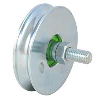 Galet à gorge ronde diamètre 80 mm : PRODIF-SOMEC F921 3700003409219