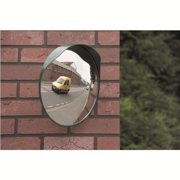 Miroir convexe int rieur ext rieur diam tre 300 mm for Miroir convexe achat