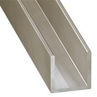 Profilé U en acier inoxydable 15 x 10 x 15 mm longueur 2 mètres CQFD 2022-5610