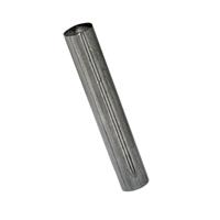 Goupille cannelée cylindrique avec bout de guidage - 5,0x25mm - boîte de 100