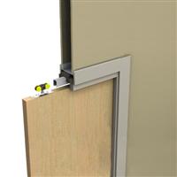 Kit SAF INSIDE pour porte simple en bois ouverture 1000 x 2040 mm Mantion SAF-INSIDE100