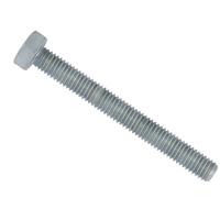Vis métaux TH filetée acier galva classe 8.8 DIN933 ISO4017 M8x40