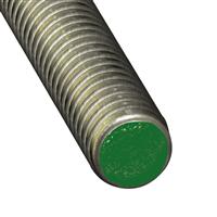 Tige filetée en acier inoxydable - diamètre 6 mm - longueur 1 m CQFD 2010-5163