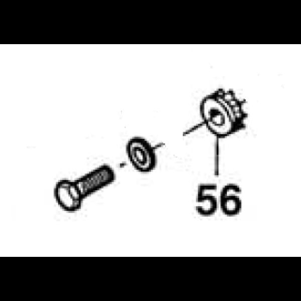 Pignon moteur b tonni res altrad bi190f bi190tf lb140 b165 - Comptoir nantais de la piece detachee ...