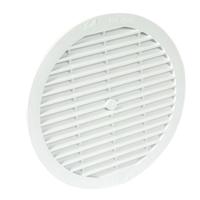 Grille de ventilation Nicoll moustiquaire classique ronde Ø198 mm