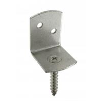 Connecteur de palissade acier Finition électro-zinguée blanc Simpson-Strong-Tie CP