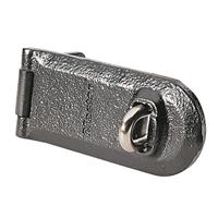 Porte cadenas en fonte d'acier zingué MasterLock avec oeillet - 140 mm
