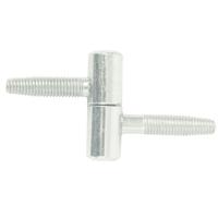 Fiche à visser Torbel acier zingué blanc menuiserie bois diamètre 12 mm