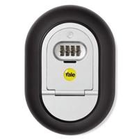 Boîte coffre-fort sécurité murale clefs Code 4 chiffres Gris
