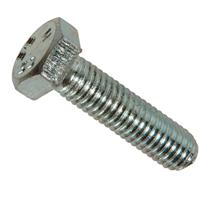 Vis métaux tête hexagonale filetage total zingué 8.8 DIN933 M4x40mm 500