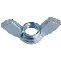 Écrou à oreilles acier zingué diamètre 10 mm Volvis 1099612