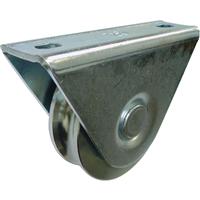 Galet sur chape extérieure gorge ronde Ø 80 mm : PRODIF-SOMEC F945