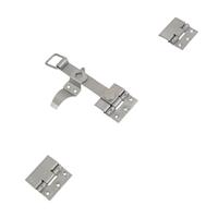 Accessoires d'espagnolette plate Torbel inox 316L avec 3 lacets