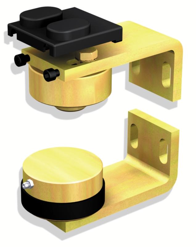 pivot de portail lourd partie haute et basse 50 mm. Black Bedroom Furniture Sets. Home Design Ideas