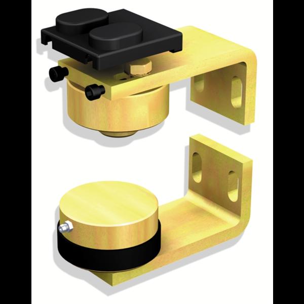 pivot de portail lourd partie haute et basse 50 mm mantion 25052. Black Bedroom Furniture Sets. Home Design Ideas