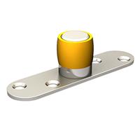 Guide du bas 1099 Mantion olive laiton diamètre 24 mm