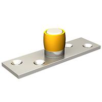 Guide du bas 1101 Mantion à olive laiton diamètre 24 mm
