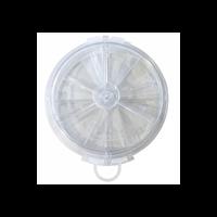 Aérateur réglable à volets extra plat Autogyre diamètre 156 mm