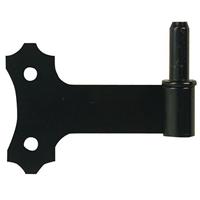 Gond tablier acier 85 mm + axe 14 mm noir Torbel 6180024 3517650094756