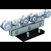 Monture acier 8 galets roulement billes pour rail 9060 Mantion 9968S