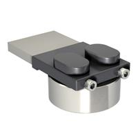 Pivot supérieur à souder portail lourd - 750 Kg - D70 mm - Acier