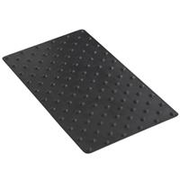 Dalle podotactile en caoutchouc Tactidal Romus 800 x 420 mm - Noir 4254