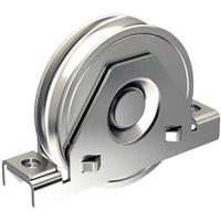 Galet support intérieur Mantion acier galvanisé galet Ø 80 mm 22081R21