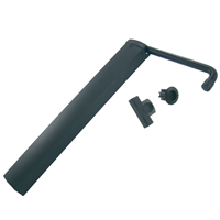 Verrouille volet double 1 vantail noir diamètre 14 mm 3517650583793