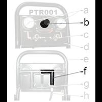 Régulateur pression pour compresseur Prodif TRE2220030MG et TRE2214030MG