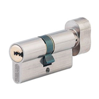 Cylindre TRANSIT2 30x30 mm bouton nickelé même variure Thirard MV018860