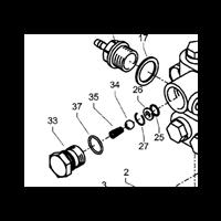 Circlip pour nettoyeur Kranzle Therm 895-1 repère 27