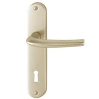 Poignée de porte clé en L SAN DIEGO Hoppe Alu finition champagne 3537997