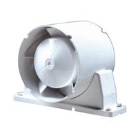 Ventilateur de gaine pour conduit rigide ou souple - Ø 100 mm - ABS Autogyre 100851