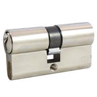 Cylindre double à panneton Vachette PM2 laiton nickelé 30 x 30 mm