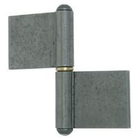 Paumelle grille roulée 100 mm Clemenson-Industrie G.LL.LAC.100.08