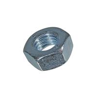 Écrou hexagonal M3 H8 DIN 934 Diamètre 3 mm Acier zingué bleu x1000